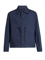 Craig Green Patch Pocket Cotton Jacket Navy