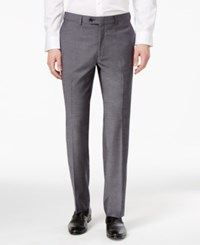 Bar Iii Men's Slim Fit Stretch Wrinkle Resistant Dress Pants Only At Macy's Light Grey