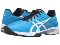 Asics Gel Solution Speed 3 Blue Jewel White Anthracite Men's Tennis Shoes