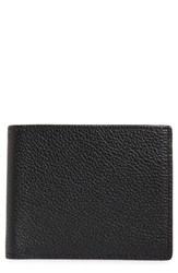 Nordstrom Shop Midland Leather Wallet Black