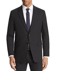 Theory Chambers Slim Fit Suit Separate Sport Coat Black