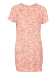 Barbour Undertow Basketweave Knitted Dress Red Cloud