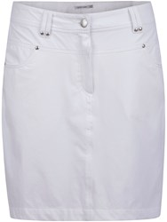 Green Lamb Terri Skort White