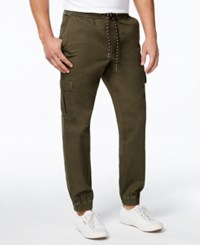American Rag Men's Slim Fit Cargo Joggers Only At Macy's Forest Night