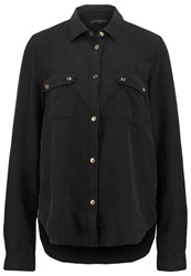 7 For All Mankind Shirt Black