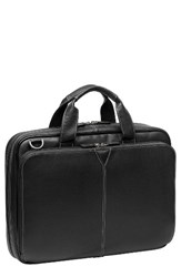 Johnston And Murphy Men's Leather Briefcase