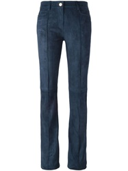 Jitrois 'Woods' Flared Trousers Blue