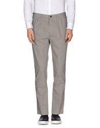 People Trousers Casual Trousers Men Grey