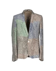 Roberto Cavalli Suits And Jackets Blazers Men Light Grey