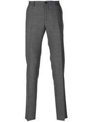 Etro Patterned Tailored Trousers Men Spandex Elastane Acetate Viscose Wool 46
