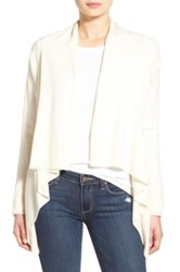 Vineyard Vines Merino Wool And Cashmere Waterfall Cardigan White
