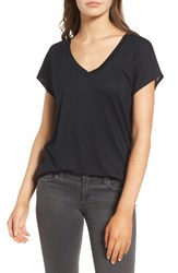 Trouve Women's High Low Dolman Tee