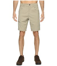 Royal Robbins Alpine Road Shorts Khaki