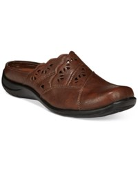 Easy Street Shoes Forever Mules Women's Tan