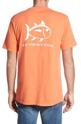 Men's Southern Tide 'Weathered Skipjack' Graphic T Shirt Nautical Orange