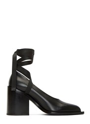 Marni Block Heeled Ballerina Pumps Black