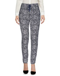 Emma And Gaia Casual Pants Dark Blue