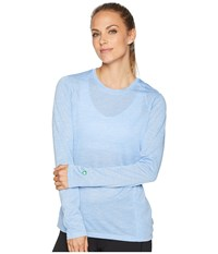White Sierra Bug Free Trail Long Sleeve Tee Provence Blue Long Sleeve Pullover