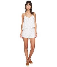 Bishop Young Ellie Tiered Romper Print Women's Jumpsuit And Rompers One Piece Multi