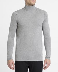 Nowadays Grey Blend Polo Neck Sweater