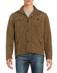Cole Haan Packable Utility Jacket Olive