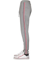 Thom Browne Cotton Sweatpants W 4 Bar Stripe Grey