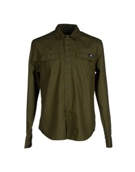Dickies Shirts Shirts Men Military Green