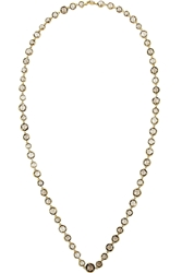 Munnu 22 Karat Gold Smokey Quartz Necklace