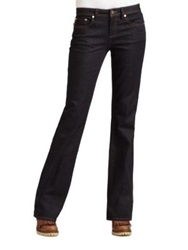 Tory Burch Bootcut Jeans Rinse
