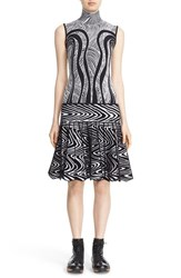 Phelan Women's Pleated Knit Drop Waist Dress