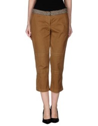 Jejia 3 4 Length Shorts Khaki