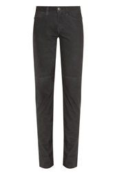 Current Elliott Feather Leather Fling Pant