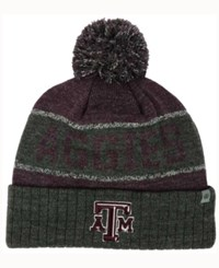 Top Of The World Texas A And M Aggies Below Zero Knit Hat Maroon Charcoal