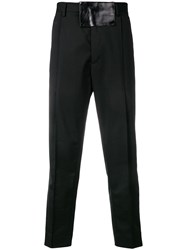 Just Cavalli Relaxed Fit Tailored Trousers Black