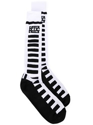 Ktz Striped Socks Black