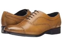 Messico Loreto Burnished Mustard Leather Men's Shoes Brown