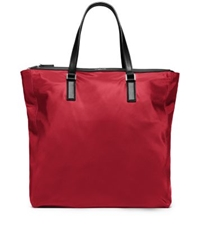 Michael Kors Kent Large Nylon Tote Wine