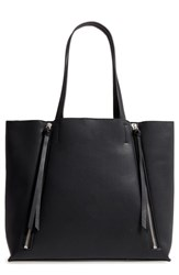 Chelsea 28 Chelsea28 Leigh Faux Leather Tote And Zip Pouch Black
