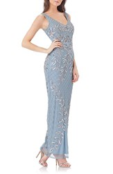 Js Collections Women's Embellished Column Gown