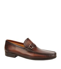 Magnanni Buckle Detail Penny Loafer Male