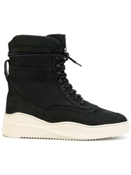 Filling Pieces High Field Boots Leather Rubber Black