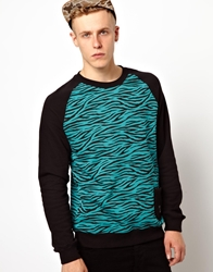 Trainerspotter Tiger Sweatshirt Black