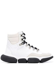 Moncler Leather Sneaker Boots 60