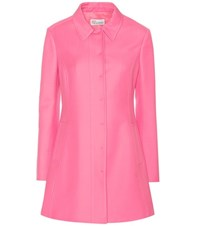 Red Valentino Cotton Blend Coat Pink