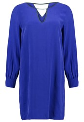 Sisley Summer Dress Electric Blue Purple