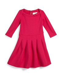 Kate Spade Selma Pleated Fit And Flare Dress Sweetheart Pink