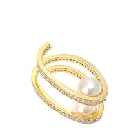 Joanna Laura Constantine Statement Spiral Ring