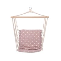Bloomingville Hammock Chair Mauve Dots