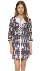 Figue Sophie Tunic Ikat Navy
