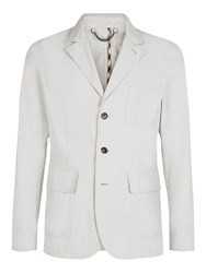 Aquascutum London Barnes Cotton Blazer Light Beige